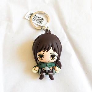 Anime Attack On Titan Sasha Keychain